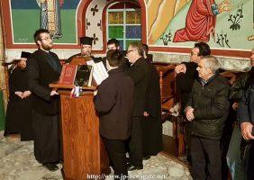 Intrarea în Sf. Mănăstire Megali Panagia