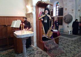 ÎPS Mitropolit de Helenoupolis în Sfânta Mănăstire a Sfântului Nicodim