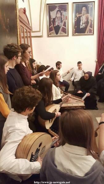 Școala de Muzică din Alimos la Sfânta Mitropolie a Nazaretului