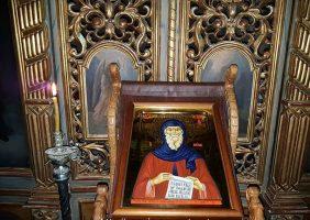 Sfânta liturghie în paraclisul Sf Antonie