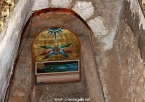 Mormântul Sfântului Simeon săpat în stâncă