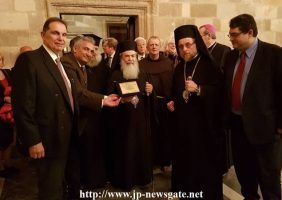 Vizita domnului Gere la Patriarhie