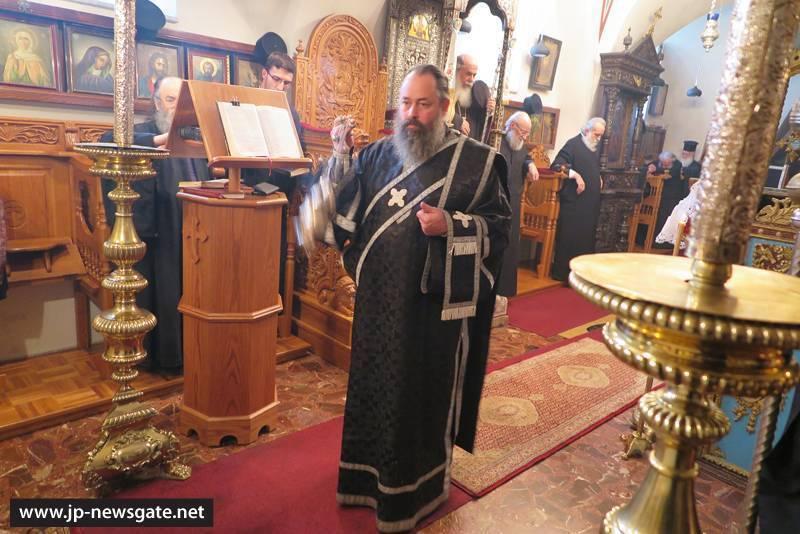 Sfânta Liturghie a Darurilor Înainte Sfințite în Mănăstirea Sfinților Împărați