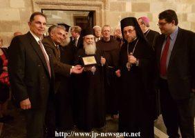 Prea Fericirea Sa împreună cu ÎPS Mitropolit al Rodosului și cu ceilalți oaspeți