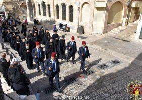 Vizita forțelor navale grecești la Patriarhie