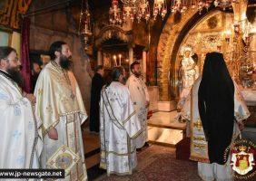 Sfânta Liturghie pe Înfricoșătoarea Golgota