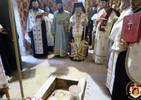 Pavecernița Mică la altarul Înălțării Domnului