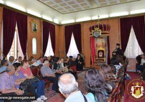 Vizita comunității din Koufr Yassif