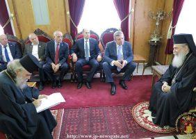 Prim-Ministrul Georgiei în vizită la Preafericirea Sa