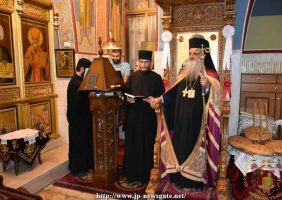 Noua stareță a Mănăstirii Ruse Eleon primește binecuvântarea Preafericirii Sale