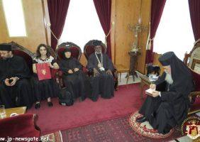 Conversația dintre Preafericirea Sa și IPS Mitropolit Ieronim de Mouanza