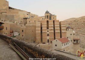 Vedere generală asupra mănăstirii