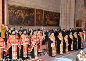 Doxologie cu ocazia aniversării a 12 ani de la întronarea Preafericitului Teofil, Patriarhul Ierusalimului