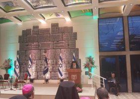 Preafericirea Sa la recepția de Crăcciun și Anul Nou oferită de Președintele Israelului