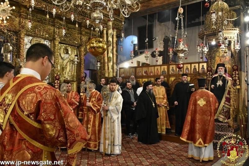 Citirea Ceasului al Nouălea, slujbă condusă de ÎPS Mitropolit Isihie de Kapitolia
