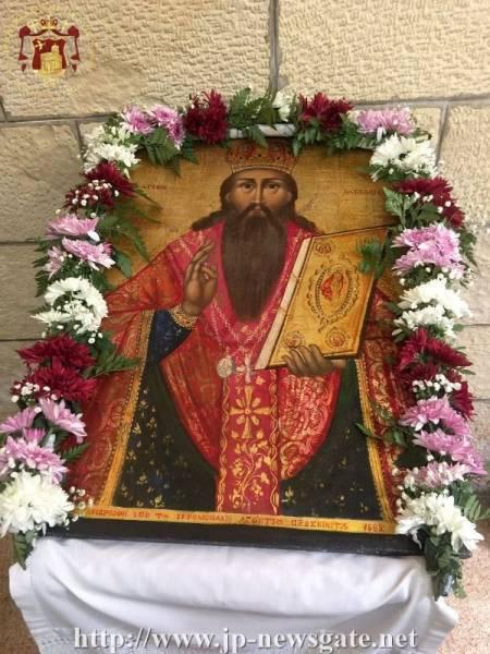 Sărbătoarea Sfântului Vasile în Orașul Vechi al Ierusalimului