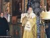 ÎPS Mitropolit Isihie în timpul Dumnezeieștii Liturghii