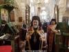 ÎPS Mitropolit de Helenoupolis dând binecuvântarea în Mănăstirea Sf. Eftimie