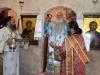 ÎPS Mitropolit al Nazaretului în timpul Sfintei Liturghii
