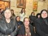 Creștinii evlavioși veniți să participe la slujbă