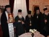 Părintele Stareț, Arhimandritul Teodorit, oferind o recepție