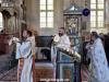 În timpul Sfintei Liturghii