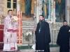 Arhiepiscopul în timpul Sfintei Liturghii