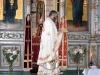 Arhimandritul Haralambie în timpul slujbei de pomenire a morților