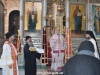ÎPS Arhiepiscop de Gerassa dând binecuvântarea finală