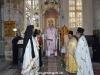 ÎPS Arhiepiscop și soborul în timpul sărbătorii Sfântului Haralambie