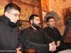 Psaktul George Alvanos și studenții de la Școala de pe Sion