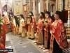 Începutul procesiunii cu binecuvântarea Prea Fericirii Sale