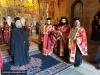 Părintele Nicolae și alti Părinți aghiotafiți pregătiți să întâmpine soborul patiarhal