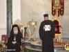Proaspăt hirotonitul părinte Nectarie adresându-Se Prea Fericirii Sale în Sala de recepție a Patriarhiei