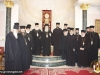 Fotografie comemorativă în Sala de recepție a Patriarhiei