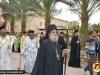 Părintele Stareț, Arhimandritul Hrisostom, în timpul procesiunii