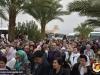 Pelerini la Sf. Gherasim în timpul procesiunii