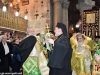 În timpul sfintei procesiuni