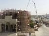 Acoperirea cu ciment a cupolei Sfintei Catedrale din Doha