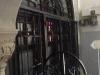 Restaurarea ușii de metal de la intrarea în lăcaș