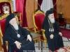 Conducătorii Bisericilor în sala de recepție a Patriarhiei