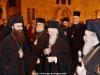 ÎPS Arhiepiscop Isidor de Hierapolis întâmpinându-l pe Sanctitatea Sa Patriarhul Ecumenic