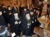 Sanctitatea Sa Patriarhul Ecumenic, Preafericitul Patriarh al Ierusalimului și Frăția Sfântului Mormânt la intrarea în Sfânta Ediculă