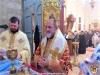 ÎPS Mitropolit Ioachim de Helenoupolis și Arhimandritul Dionisie în Sfântul Altar