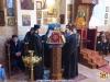 Arhimandritul Evsevie și corul cu elevi de la Școala Patriarhală