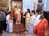 ÎPS Mitropolit Ioachim de Helenoupolis și soborul în timpul Sfintei Liturghii