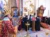 ÎPS Mitropolit Ioachim de Helenoupolis slujind Sfânta Liturghie la Mănăstirea Sfânta Ecaterina