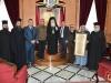 Preafericirea Sa, Primarul, Mitropolitul de Kapitolia si Arhiepiscopii de Hierapolis și Qatar