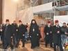 Preafericirea Sa, Arhiepiscopii și preoții la procesiunea întreită în jurul Bazilicii