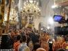 Creștinii evlavioși participanți la Sfânta Liturghie